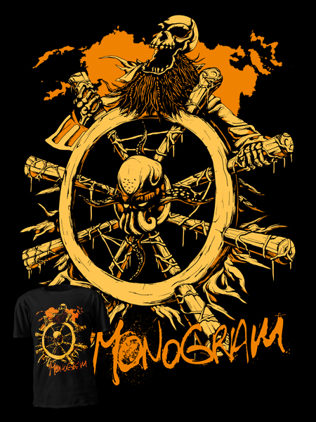 T-shirt deisgn for Monogram Apparel - Odyssey