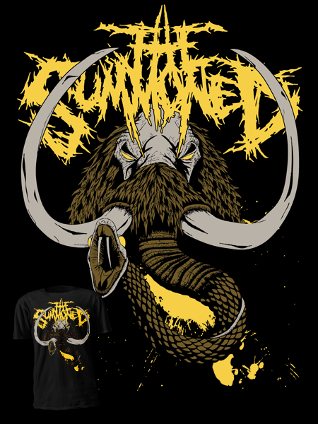 T-shirt design for The Summoned