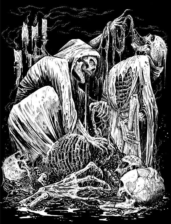 Illustration for Skeletal Remains