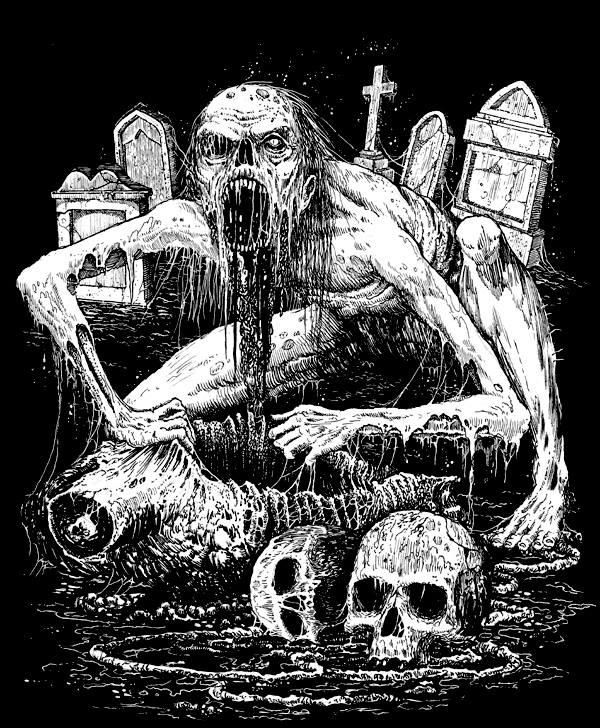 Illustration for Splattered
