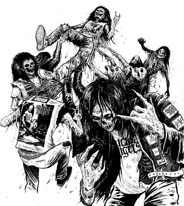 Illustration for Suicidal Angels