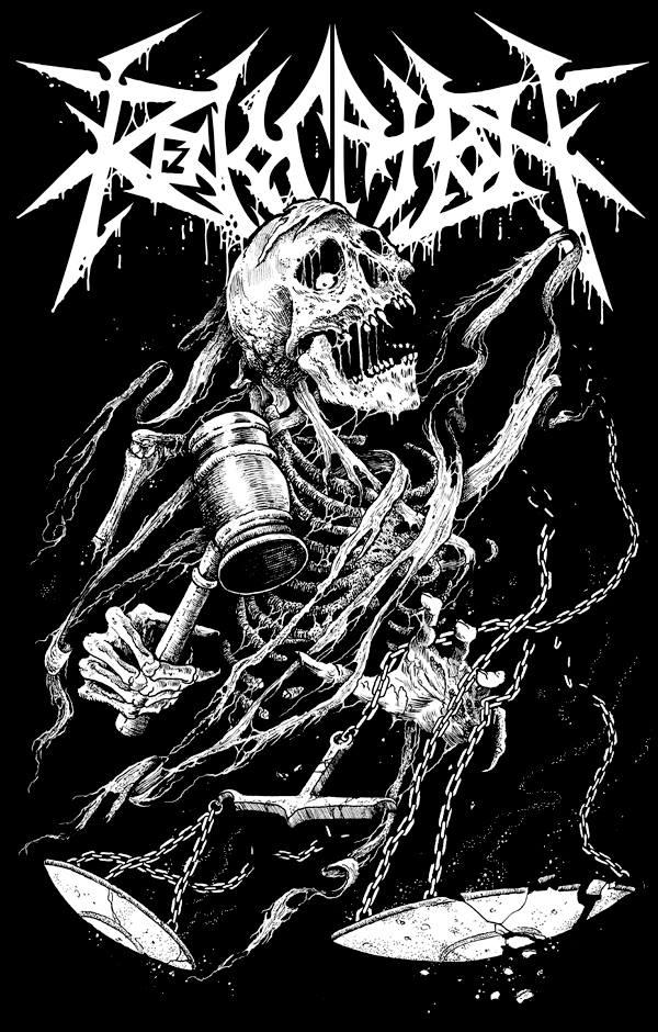 T-shirt design for Revocation