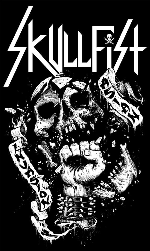 Tour Poster for Skullfist