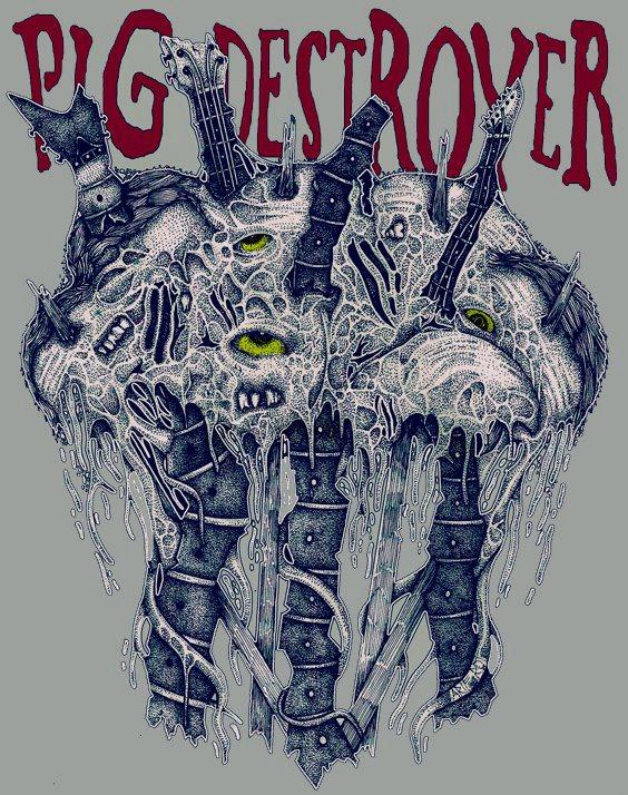 Illustration for Pig Destroyer