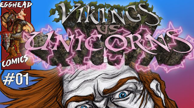 VikingsVsUnicorns-issue1-cover-feat