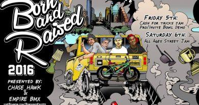Born and Raised 2016 – BMX Street Jam Competition