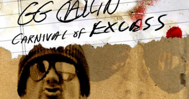 GG ALLIN 'Carnival of Excess' Documentary Now Available