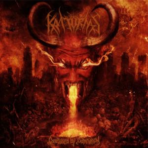 Kratornas-DevouredbyDamnation-albumcoverart