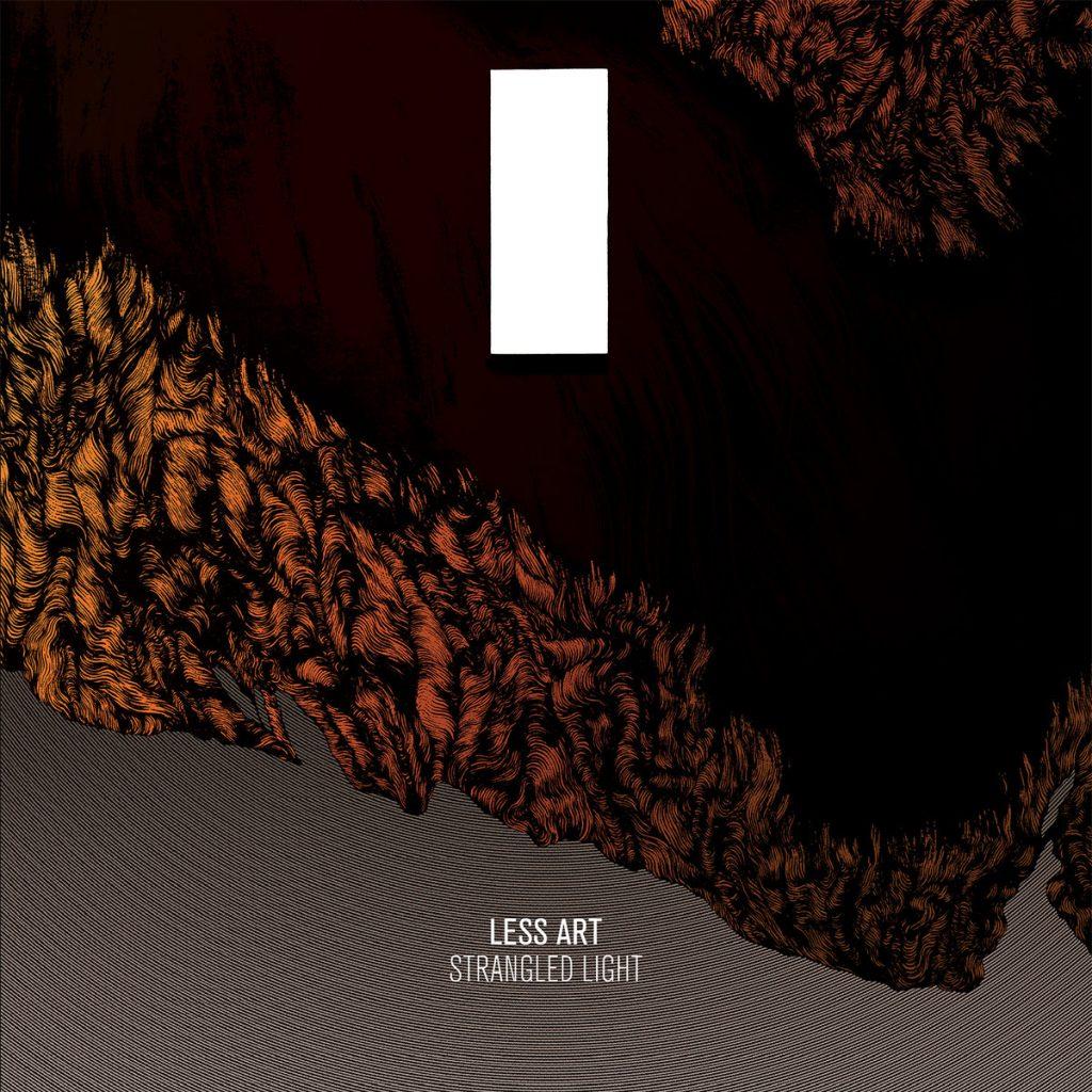 LessArt-StrangledLight-albumcoverart