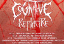 REPLACIRE Announce East Coast Tour Dates with COGNITIVE