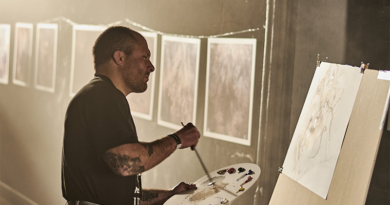 Heavy Metal Painter Paolo Girardi Announces Philadelphia Art Show